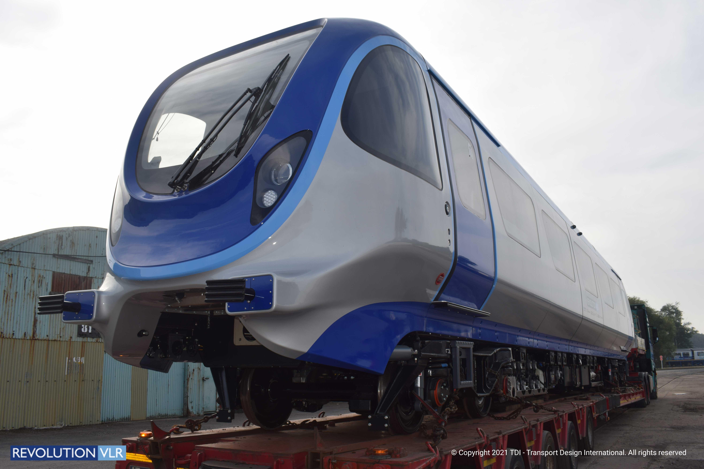 Revolution Very Light Rail in Transit to Ironbridge